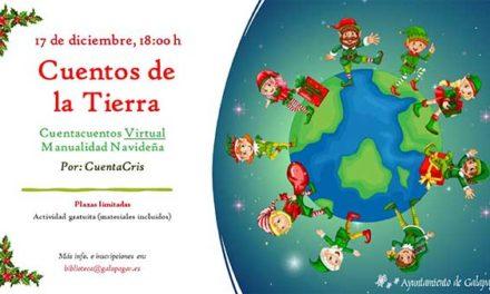 """""""Cuentos de la Tierra"""", una actividad virtual, organizada por la Biblioteca Ricardo León"""