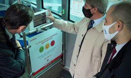 El Buslab, un autobús laboratorio entre Madrid y Majadahonda