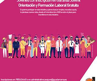 Últimas plazas para los jóvenes que participen en el programa de empleo del Sejuve