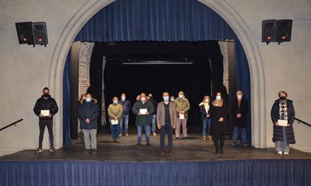 Guadarrama rinde homenaje a quienes colaboraron desinteresadamente en el confinamiento