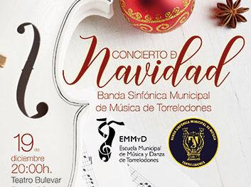 La Banda sinfónica municipal de Torrelodones ofrecerá el concierto Gala de Navidad