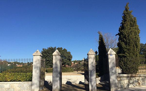 Cs Torrelodones se pregunta dónde está la valla de forja del Parque Pradogrande