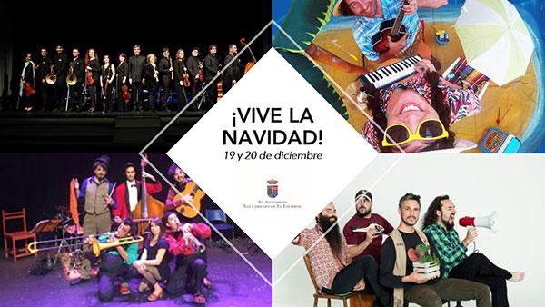 """Festival """"Escenas de invierno"""" y Concierto de Navidad en San Lorenzo"""