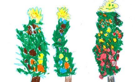 Los alumnos de 25 colegios de Las Rozas envían mensajes de cariño y plantas a los mayores estas Navidades