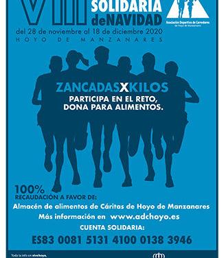 Zancadas x Kilos, la adaptación de la carrera navideña Zancadas solidarias