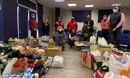 Collado Villalba: más de 2.000 alimentos para Cáritas y Cruz Roja recogidos en los conciertos de Navidad