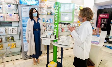 Las farmacias podrán realizar test a partir del 1 de febrero