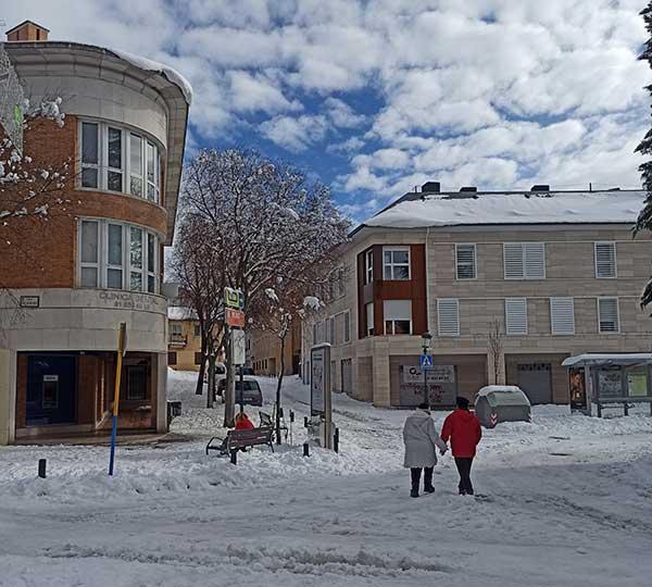"""El PP de Torrelodones tilda de """"improviso"""" y """"falta de planificación"""" la gestión de la nevada"""