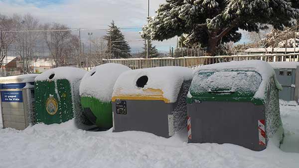 Torrelodones retoma el servicio de recogida de residuos en zonas accesibles
