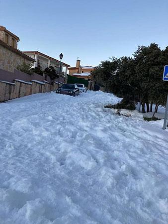 Consulta médica Torrelodones nieve