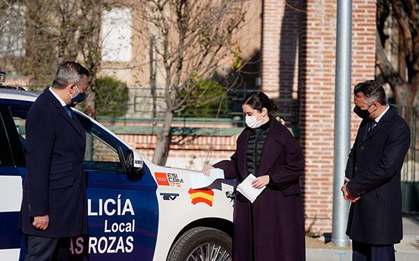 Medalla de oro a título póstumo al policía local de Las Rozas fallecido en accidente de tráfico