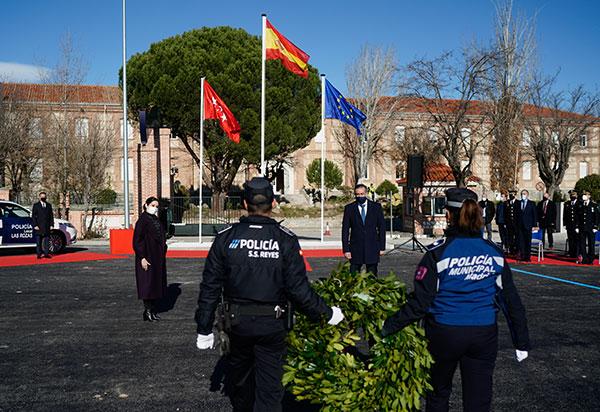 medalla oro policía Las Rozas