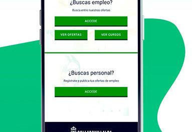 Una nueva APP para acceder a las ofertas de empleo de Collado Villalba