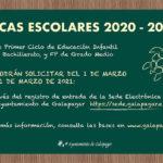 Becas escolares para estudiantes empadronados en Galapagar