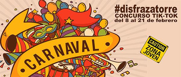 Concurso de Tik Tok para celebrar Carnaval en Torrelodones