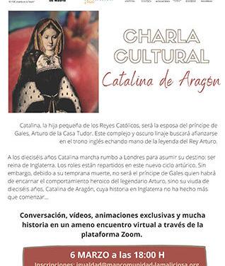 La Maliciosa organiza una charla virtual para conocer la historia de Catalina de Aragón