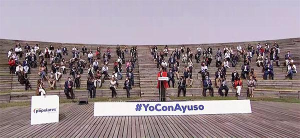 Alcaldes y portavoces del PP en el noroeste, en la lista electoral de Díaz Ayuso
