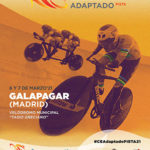 El Campeonato de España de ciclismo adaptado en pista se celebra en el velódromo de Galapagar