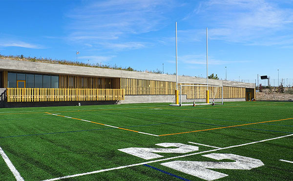 La Federación de Rugby de Madrid señala que en el campo Antonio Martín solo podrán jugar categorías inferiores