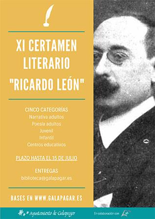 XI Certamen literario Ricardo León