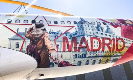 El Airbus de Iberia lucirá la imagen turística de San Lorenzo