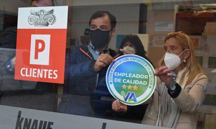 """Collado Villalba reconoce a las empresas con los """"Sellos de empleador de calidad"""""""