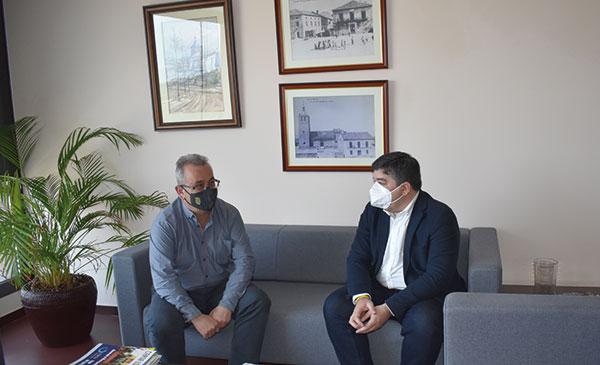 Galapagar: Entrevista al alcalde, Alberto Gómez, y al primer teniente de alcalde, Felipe García