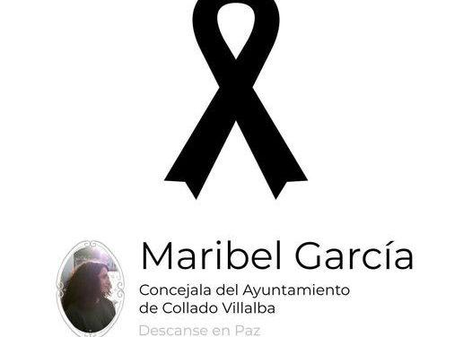 El Ayuntamiento de Collado Villalba decreta 3 días de luto por el fallecimiento de Maribel García