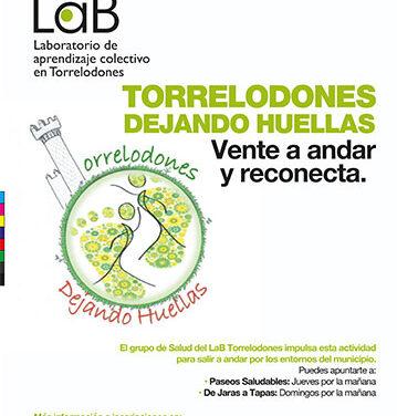 LAB Torrelodones organiza grupos para salir a andar por entorno urbano y natural