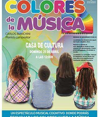 """""""Los colores de la música"""", un concierto didáctico en la Casa de Cultura de Alpedrete"""