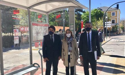 Veinticinco paradas de autobús en San Lorenzo tendrán mejorada la accesibilidad