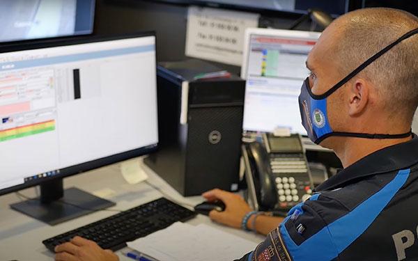 Actualizado el software de la Policía local de Galapagar
