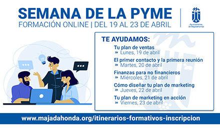 Majadahonda organiza una semana dedicada a la formación online para pymes