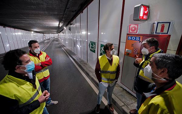 El túnel bajo la calle Real de Las Rozas se renueva con mejores sistemas de seguridad