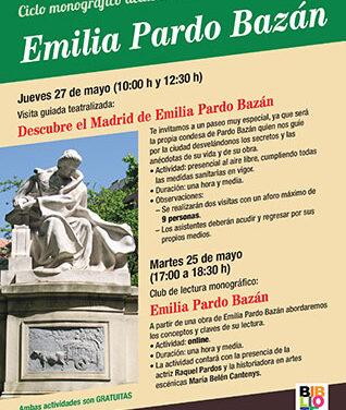 La Biblioteca Ricardo León organiza un ciclo dedicado a Emilia Pardo Bazán