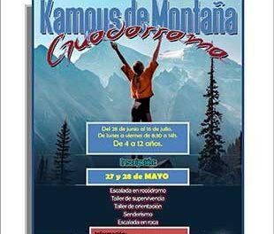 Campus de verano en la Escuela de montaña de Guadarrama