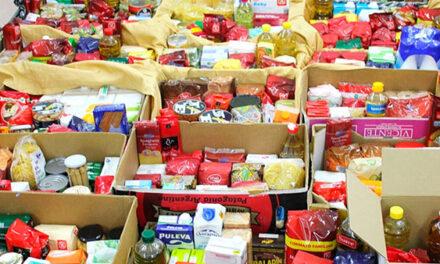 El C.D. Galapagar recoge alimentos y productos de primera necesidad para familias