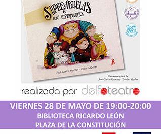 Cuentacuentos participativo en la Biblioteca Ricardo León