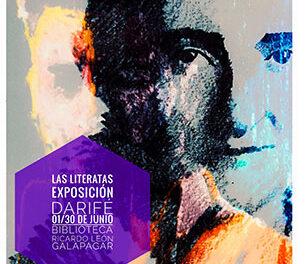"""El galapagueño David Rivas expone """"Las literatas"""" en la Biblioteca Ricardo León"""