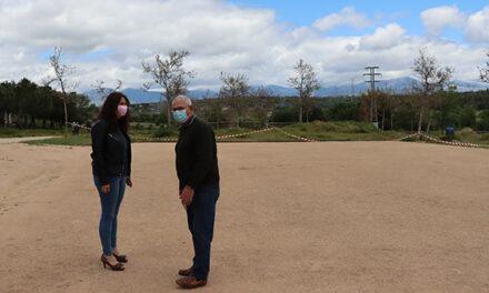 Los aficionados al chito en Galapagar disponen de una pista renovada