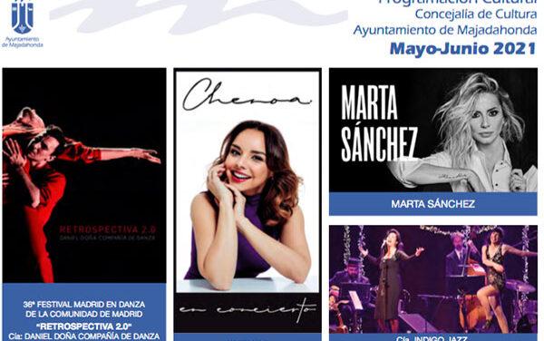 Marta Sánchez y Chenoa, en la programación cultural de Majadahonda