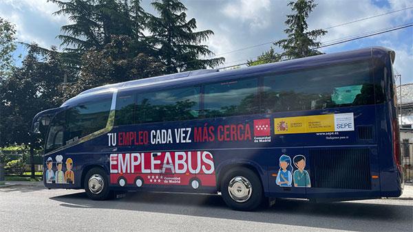 El Empleabus actuará como oficina de empleo en El Escorial