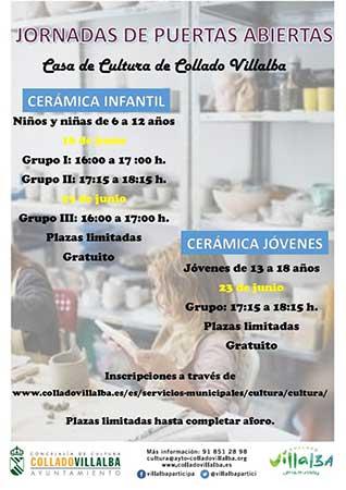 cursos cerámica Collado Villalba