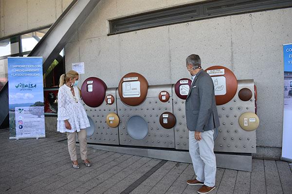 Collado Villalba instala dos puntos limpios de proximidad para facilitar el reciclado