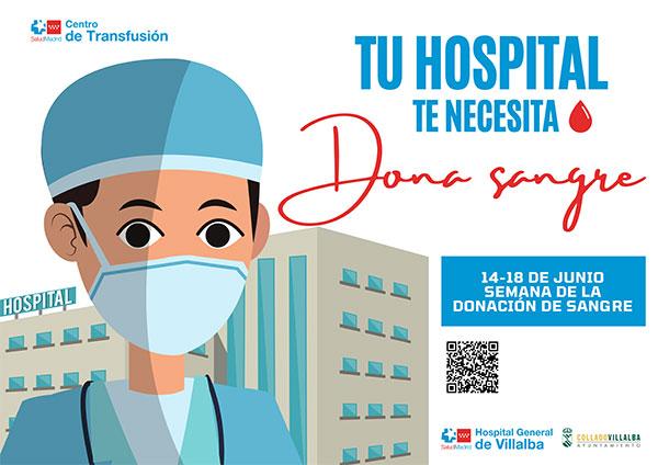 Collado Villalba se suma a la Semana de la donación de sangre