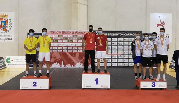 Ernesto Baschwitz, bronce en el Campeonato de España Absoluto de bádminton