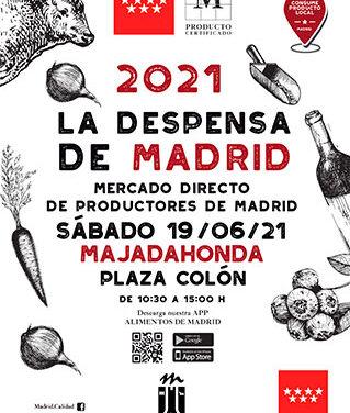 El mercado itinerante la Despensa de Madrid llega a Majadahonda