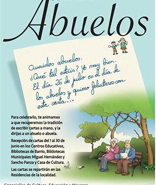 Collado Villalba celebra el Día de los abuelos con una iniciativa para los niños