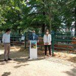 El director general de Agricultura y Ganadería visita la IV Feria del Ganado de El Escorial