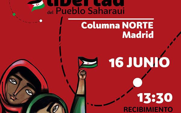 La Marcha por la libertad del pueblo saharaui llega al noroeste